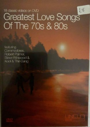 Greatest Love Songs Of The 70s & 80s (DVD)